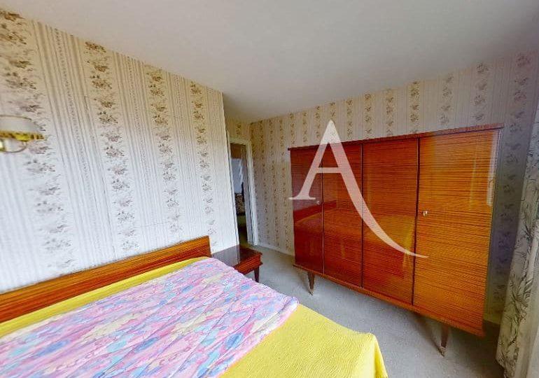 agence immobiliere 94: 4 pièces 66 m² à vitry sur seine, première chambre avec balcon et vue dégagée