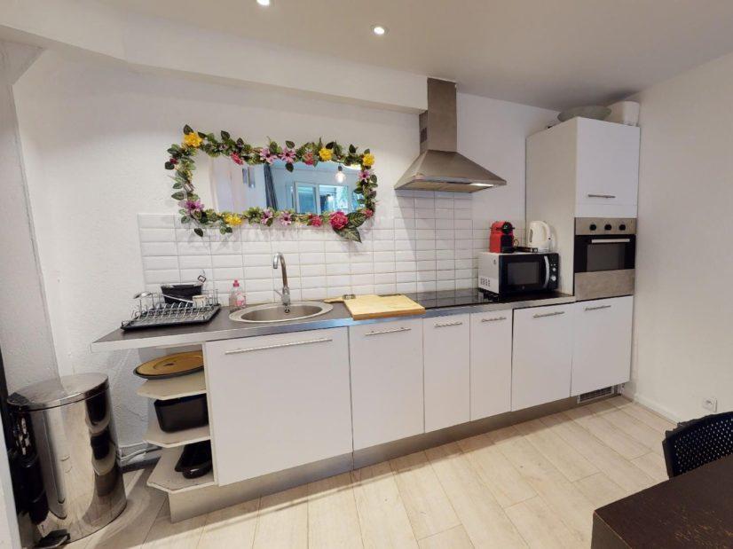 vente maison charenton le pont: 4 pièces 90 m², cuisine ouverte sur le séjour