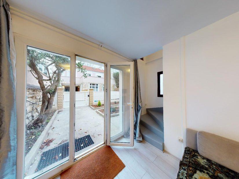 vente maison charenton: 4 pièces 90 m², séjour avec accès terrasse et jardin