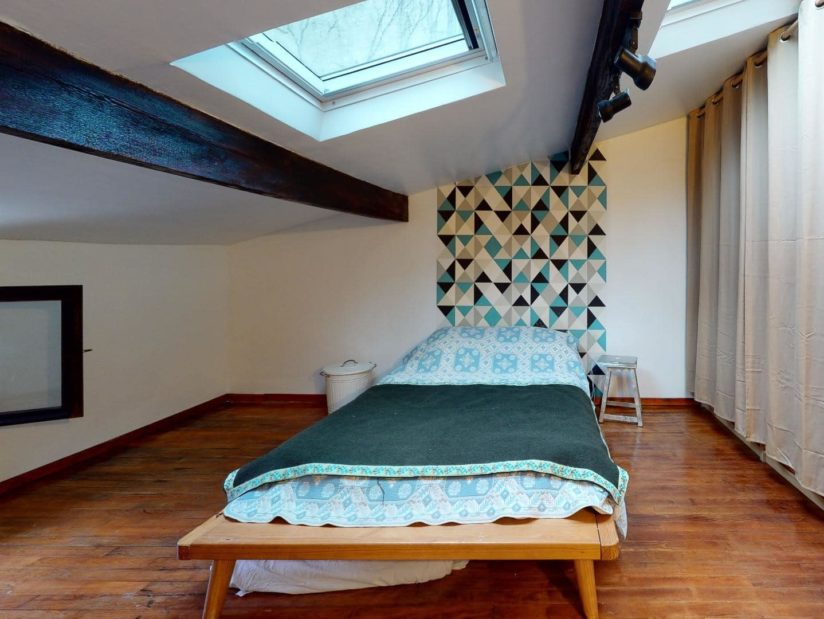 achat appartement neuf charenton le pont: 4 pièces 90 m², 1° étage, chambre mansardée