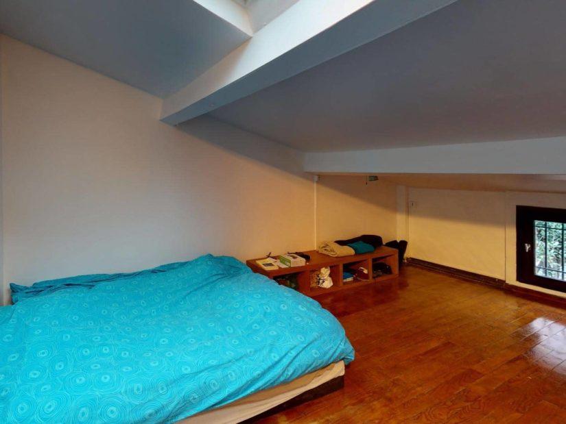 immo charenton le pont: maison 4 pièces 90 m², seconde chambre à l'étage