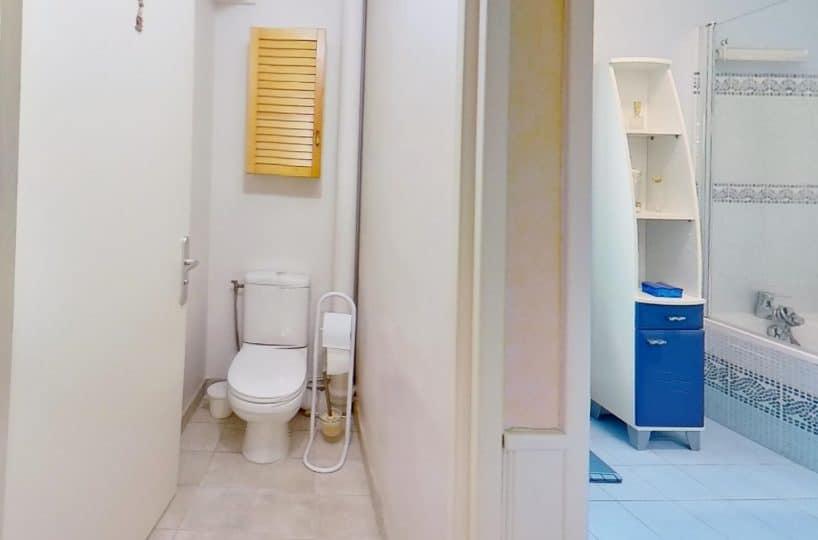 vente appartement maison alfort: 2 pièces 50 m², salle de bain et wc indépendants
