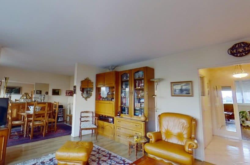 immobilier maison alfort: 4 pièces entrée donnant sur le double séjour