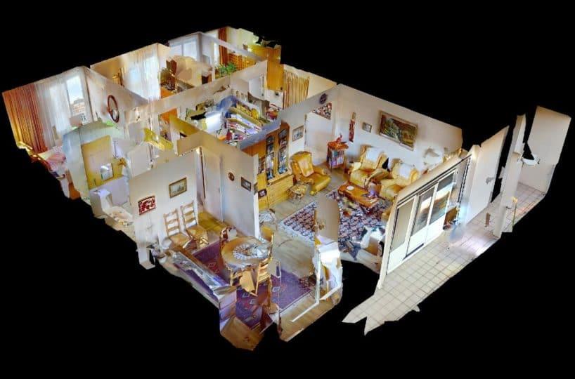 achat appartement maisons alfort: appartement 4 pièces 80 m²,  plan détaillé de la maison