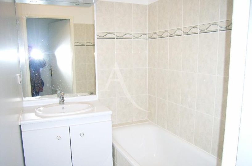 immo alfortville: appartement 2 pièces 49 m², salle de bains claire avec baignoire