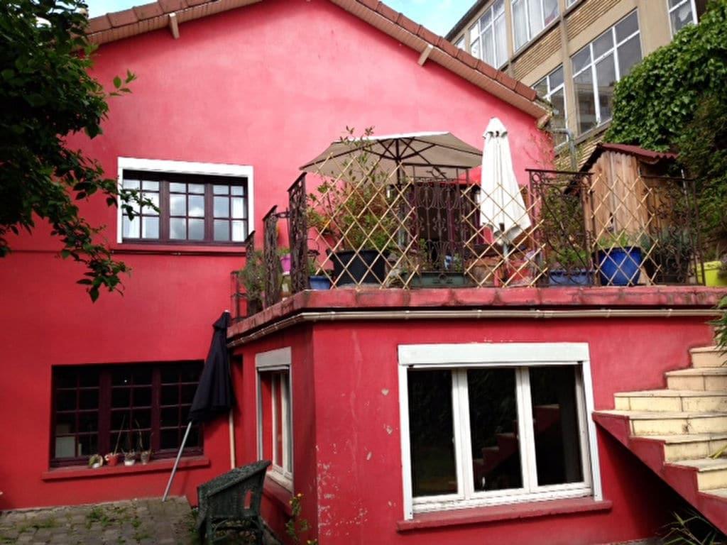 vente maison à alfortville: maison 6 pièces 180 m², terrase surélevée, jardin 400 m²
