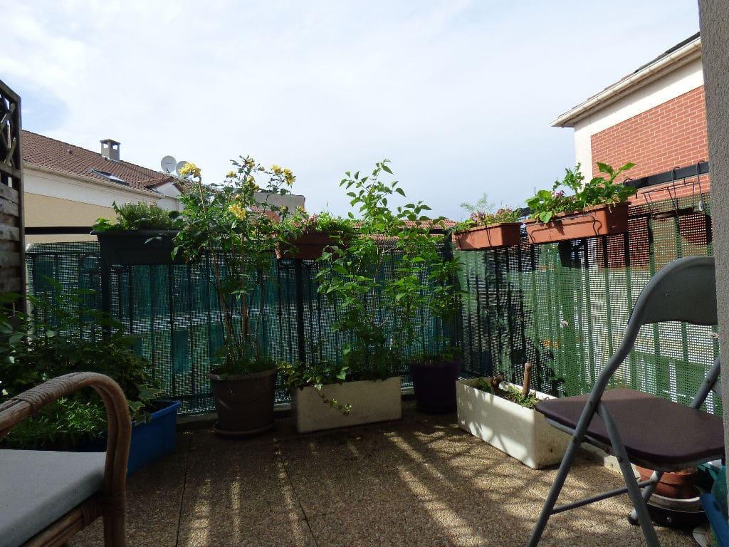 achat appartement alfortville: en duplex 2 pièces 43 m², séjour donnant sur la terrasse au 5° étage/5