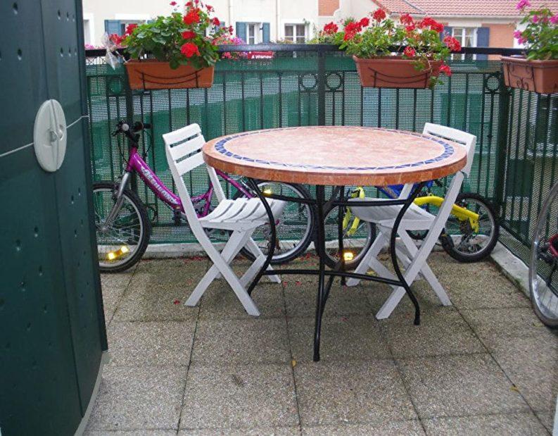 vente appartement alfortville: 2 pièces 43 m², belle terrasse au dernier étage