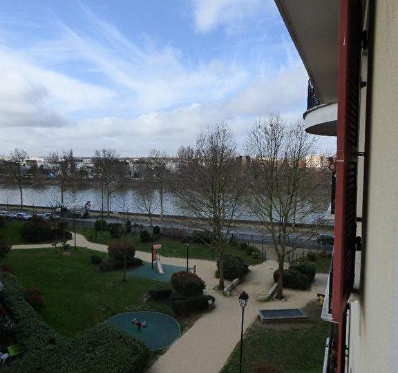 appartement a vendre alfortville: studio 26 m², au ° étage avec belle vue sur parc et la seine