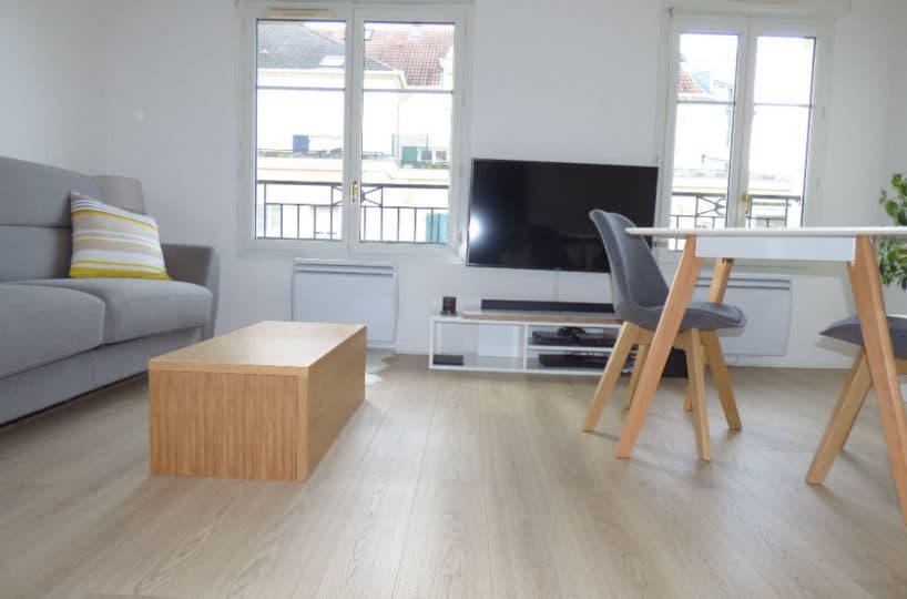 vente appartement 2 pieces alfortville: studio 26 m² lumineux, très bon état général