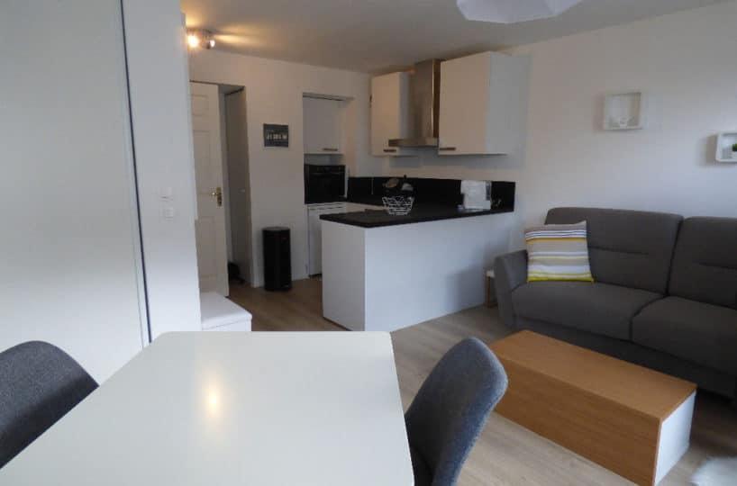 agence alfortville: studio 26 m² avec cuisine américaine aménagée