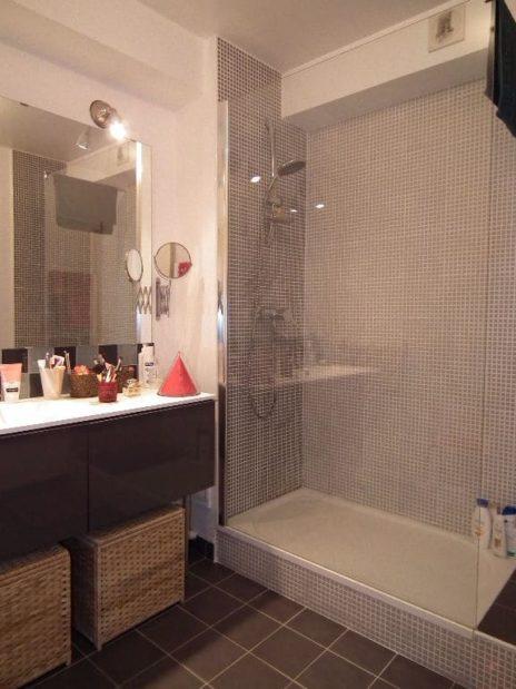 vente direct immo: à vendre 3 pièces 56 m², salle d'eau moderne avec douche, alfortville