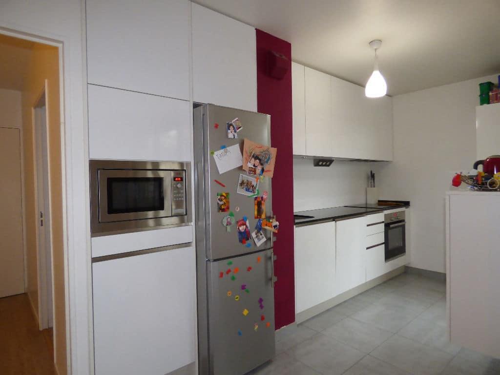 vente appartement charenton le pont: 3 pièces 68 m², cuisine ouverte sur salle à manger