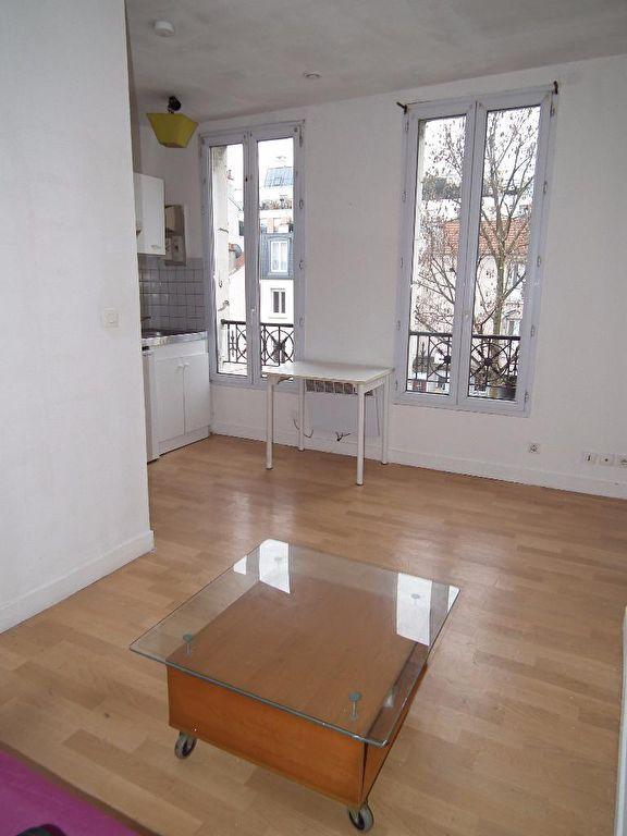 vente studio à alfortville: 22 m², séjour lumineux avec coin chambre à coucher
