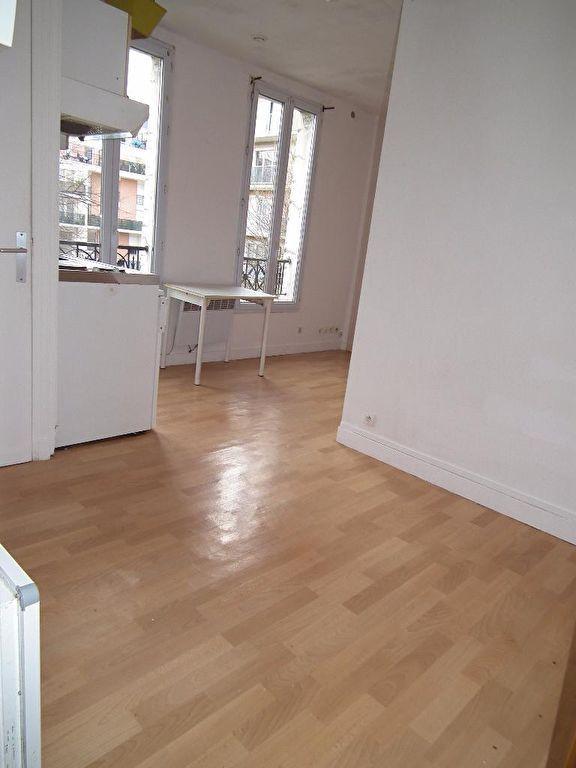 vendre appartement alfortville: 22 m², pièce à vivre avec coin cuisine et coin chambre