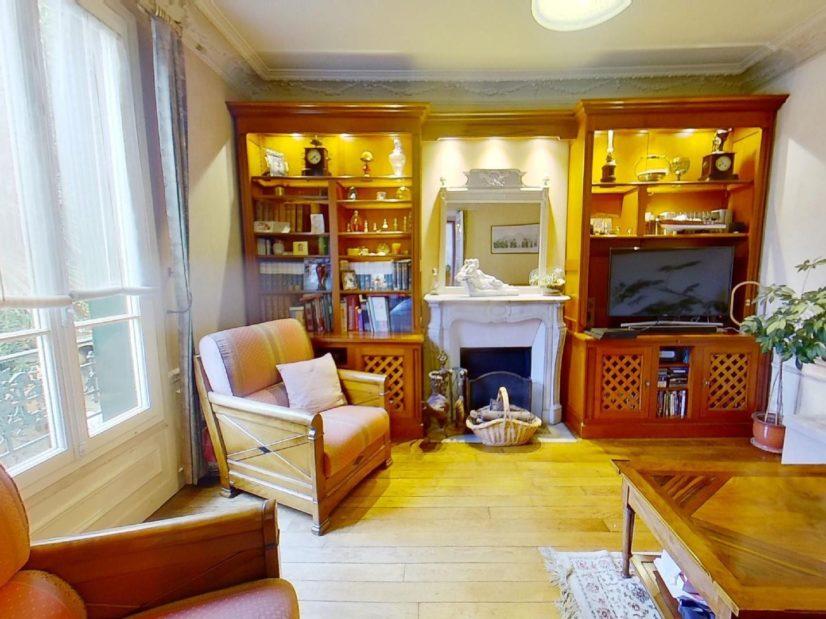 maison alfort immobilier: maison 9 pièces 200 m², rdc salon lumineux, parquet au sol