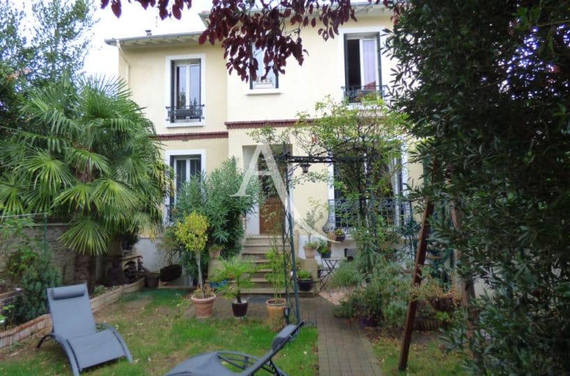 agence immo 94: maison 9 pièces  jardin de 320 m² + pavillon indépendant à l'entrée