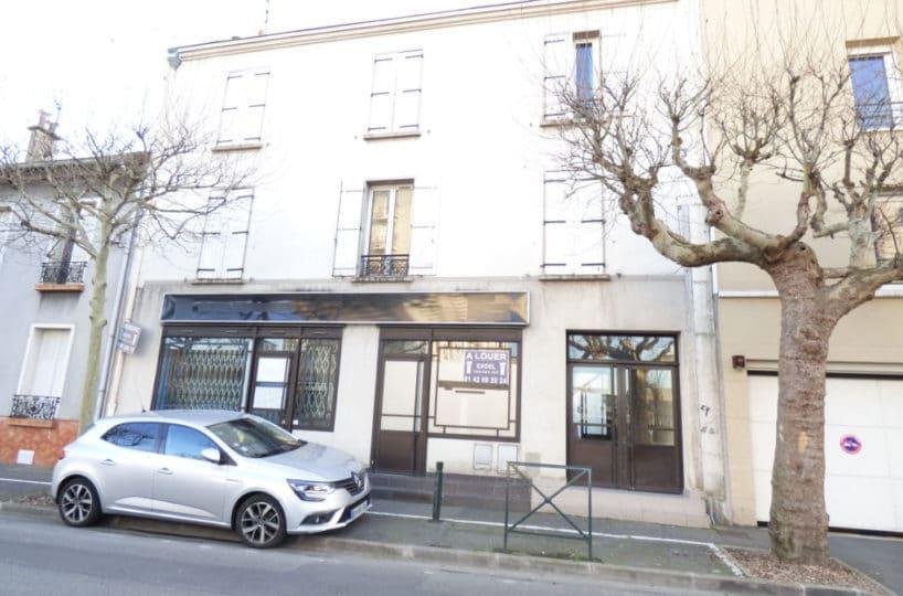 vente appartement alfortville: en double exposition, 2 pièces 26 m², centre ville, 2° et dernier étage