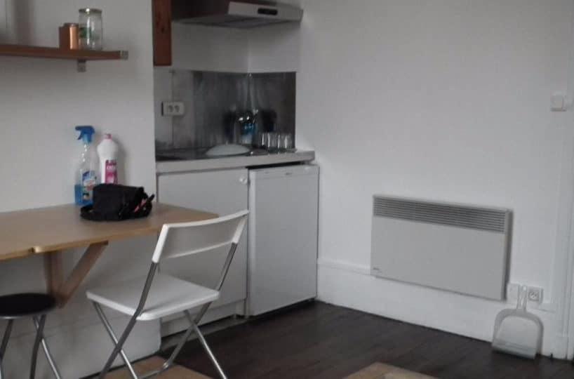 vente appartement alfortville: studio 18 m², kitchenette aménagée et équipée