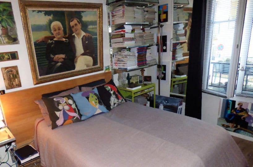 estimer appartement alfortville: 2 pièces 50 m², chambre à coucher à l'étage