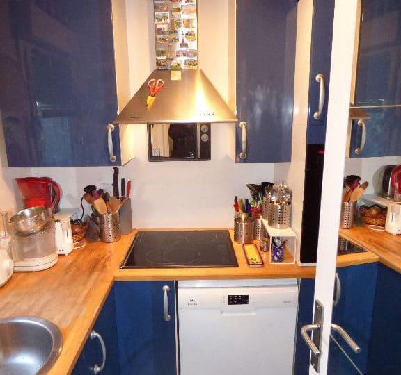agence immo alfortville: 2 pièces 50 m², cuisine indépendante équipée et aménagée