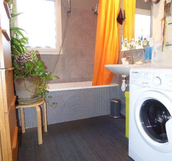 agence alfortville: appartement 2 pièces 50 m², salle de bain avec baignoire