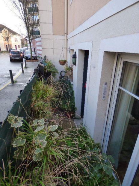 appartement alfortville, 2 pièces 50 m², petite cour végétalisée au rez de chaussée