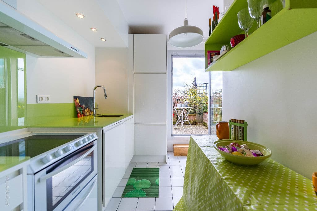 appartement à vendre à charenton le pont: appartement 3 pièces, cuisine aménagée, lumineuse