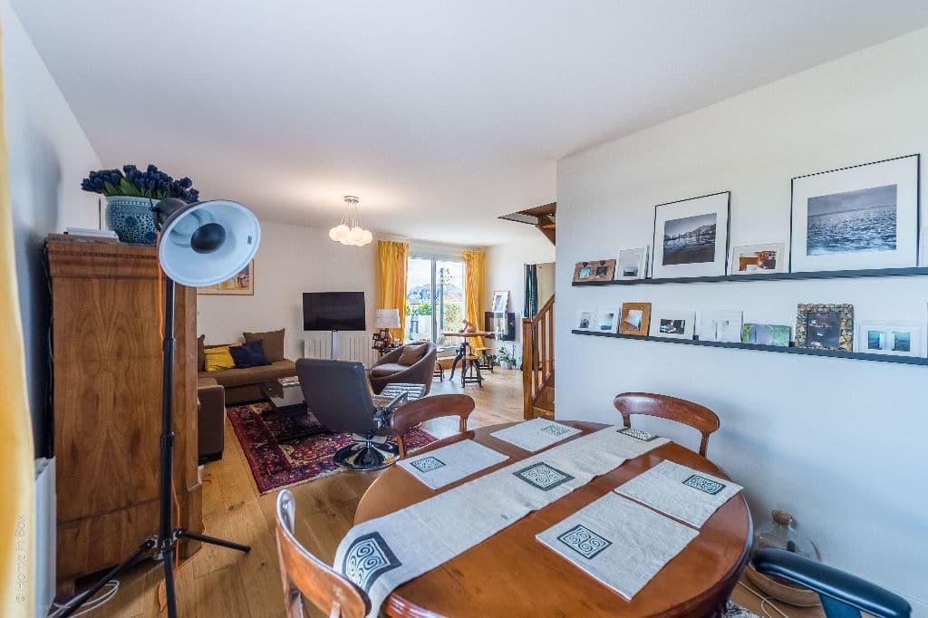 appartement à vendre charenton-le-pont: 3 pièces, double séjour lumineux, 2 terrasses