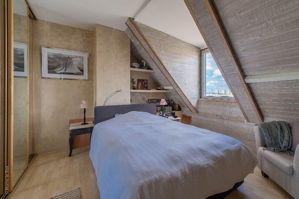 appartement à vendre à charenton: 3 pièces, chambre lumineuse mansardée