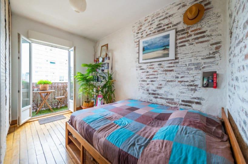 appartement à vendre à charenton le pont, 2 pièces 43 m², dont 1 chambre avec balcon