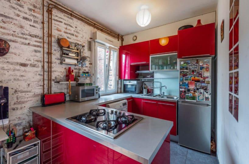 agences immobilières charenton le pont: appartement 2 pièces, cuisine ouverte aménagée