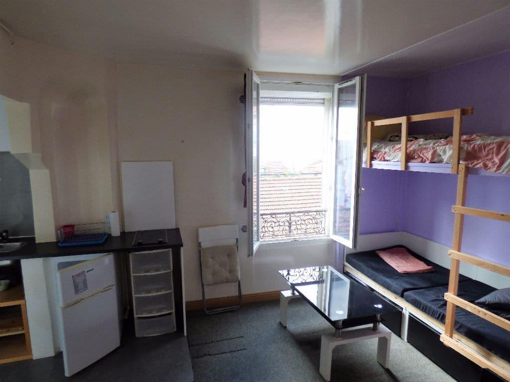 achat appartement alfortville: 2 pièces meublé de 29 m², séjour lumineux, coin cuisine
