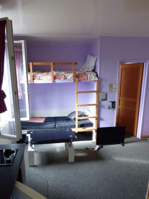 estimer appartement alfortville: 2 pièces 29 m², séjour meublé, lit superposés enfants