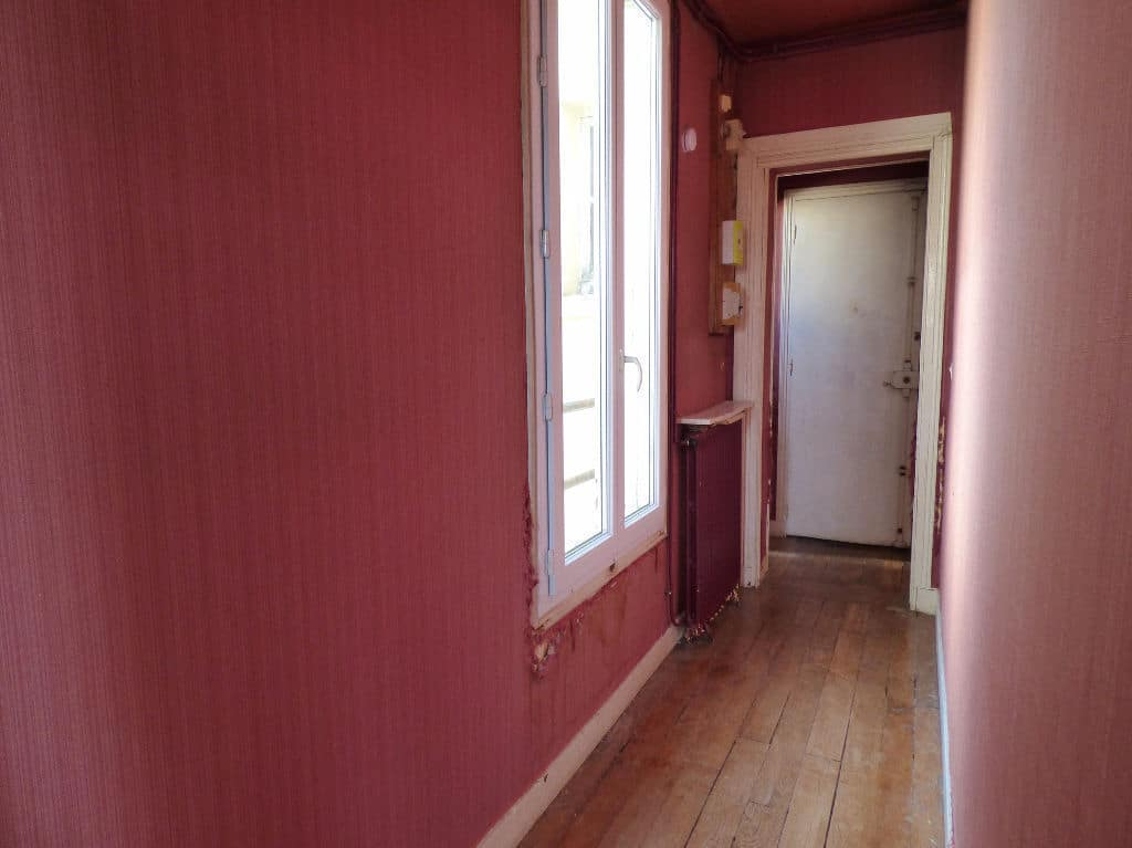 achat appartement maisons alfort: 3 pièces 68 m², longue entrée , parquet au sol