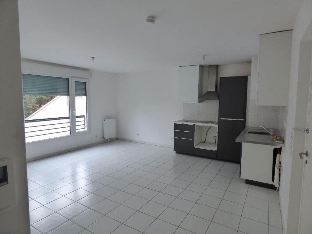 vente appartement maisons alfort: 3 pièces 59 m², séjour lumineux avec cuisine ouverte