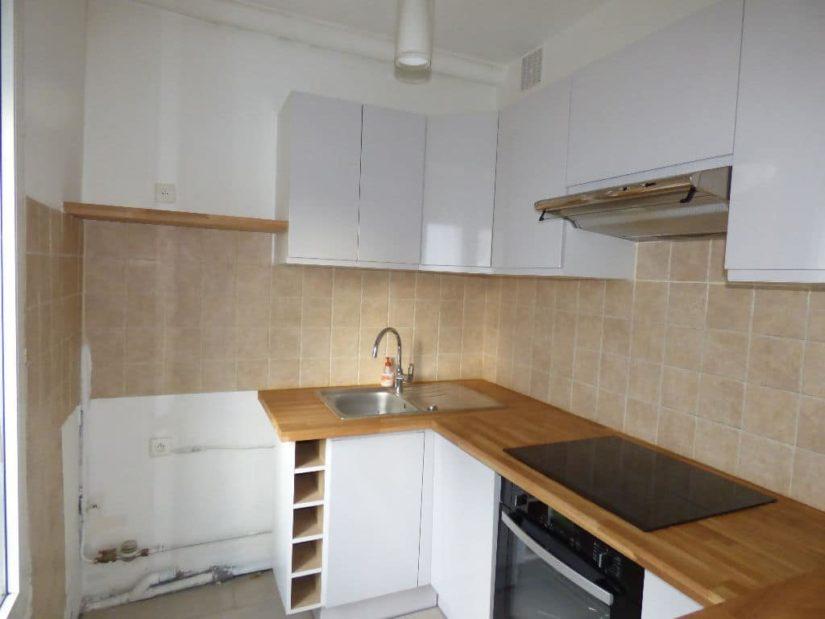 syndic alfortville: appartement 3 pièces, cuisine équipée: plaques de cuisson, four...