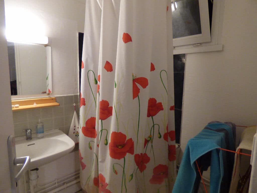 vente studio à alfortville: 29 m² secteur carnot, salle d'eau avec douche, wc séparé