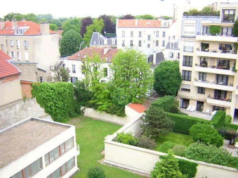 se loger charenton le pont: appartement 3 pièces 61 m², 4° étage/9, ascenseur, vue jardin