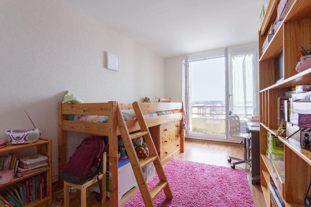 vendre appartement alfortville: 3 pièces 74 m², première chambre lumineuse