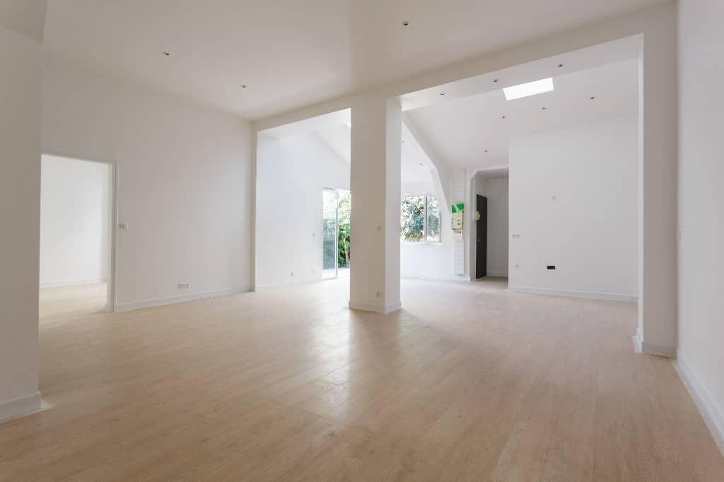 appartement maison alfort: superbe loft en fond de cour, 4 pièces 93 m², au coeur du centre ville