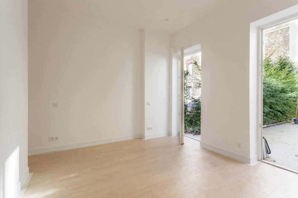 achat appartement maisons alfort: loft 4 pièces, double séjour avec grande terrasse