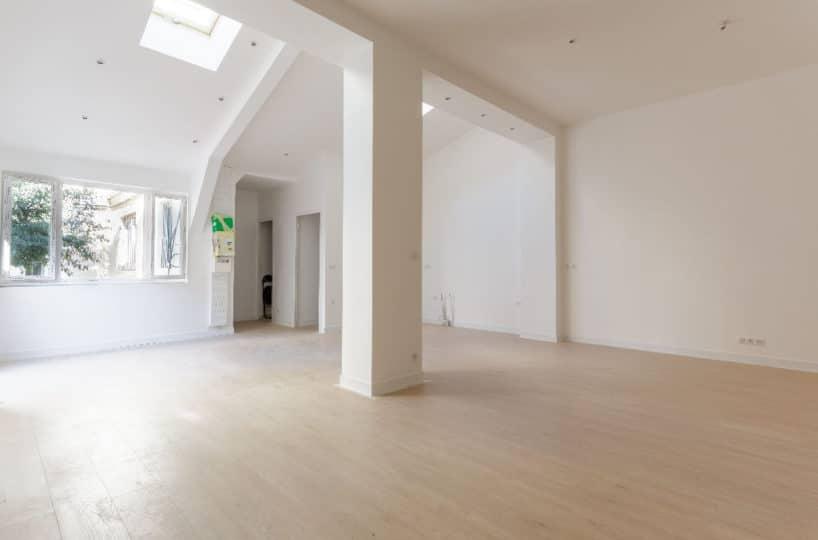 agence immo maison-alfort: loft 4 pièces, grand séjour, magnifique hauteur sous plafond