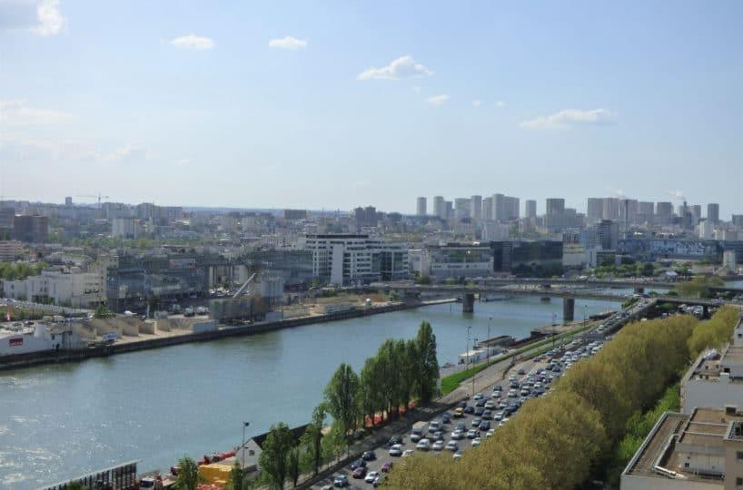 vente appartement charenton le pont: 3 pièces 67 m², cave, parking, quai des carrières