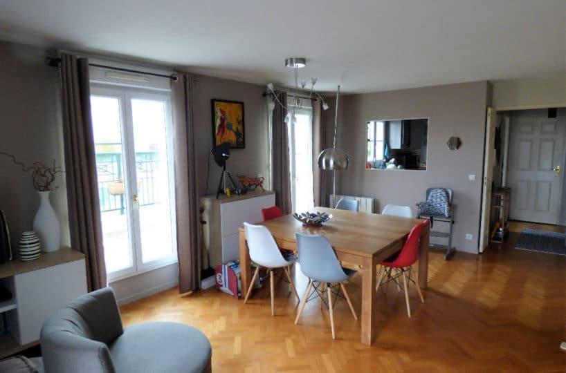 estimer appartement alfortville: 4 pièces 87 m², séjour lumineux parqueté