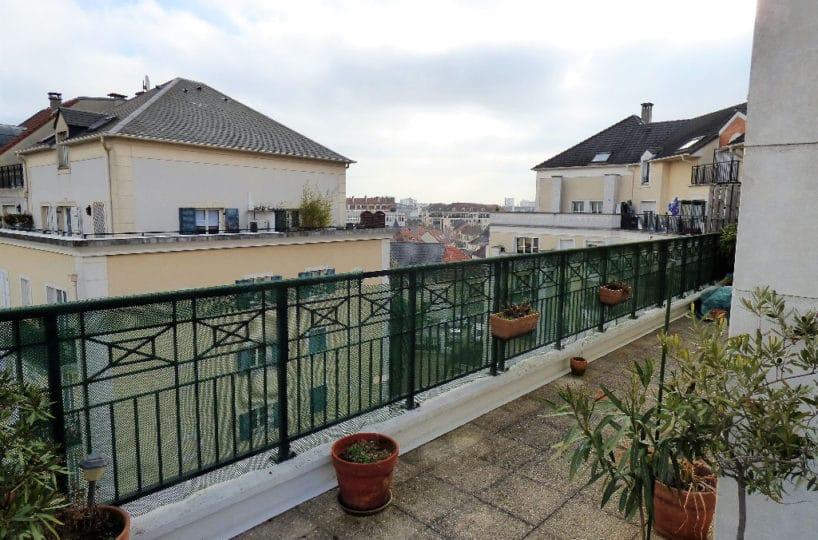 faire estimer appartement alfortville: 4 pièces, séjour ouvert sur terrasse de 30 m²