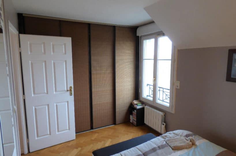 vendre appartement alfortville: 4 pièces 87 m², 1° chambre à coucher, lit double