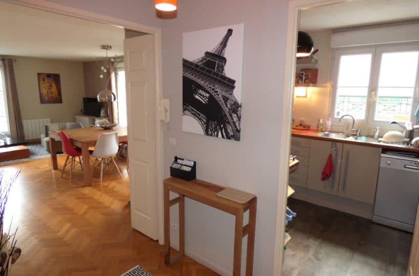 appartement a vendre alfortville: 4 pièces, cuisine indépendante aménagée et équipée