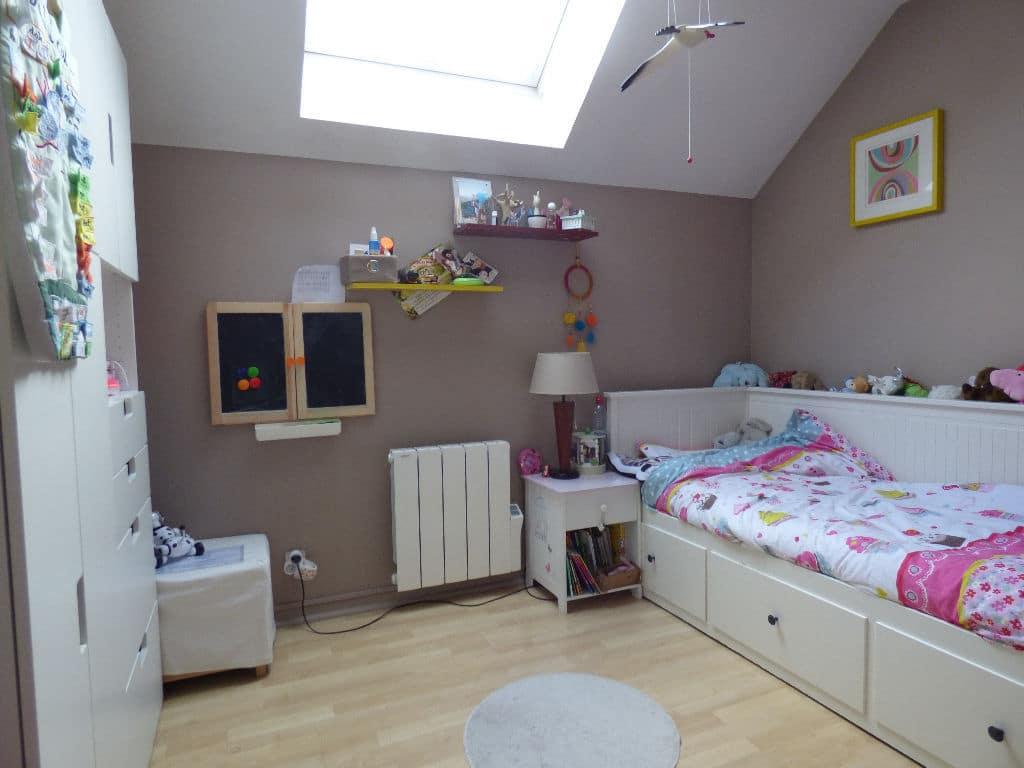 agence alfortville: 4 pièces 87 m², 2° chambre à coucher, lit simple