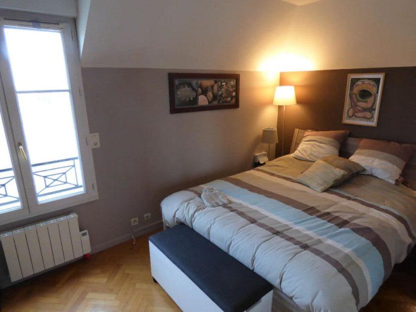 estimation alfortville: 4 pièces 87 m², chambre à coucher parquetée